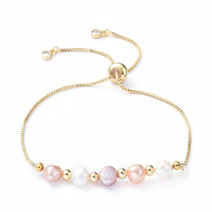 Dámsky perlový náramok