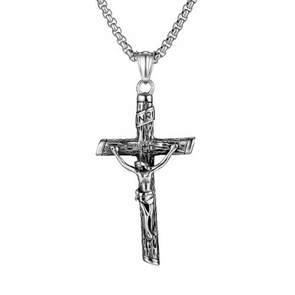 Prívesok kríž s retiazkou