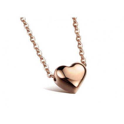 Dámsky náhrdelník srdiečko
