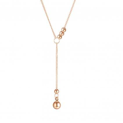 Dámsky náhrdelník s guličkami