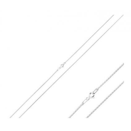 strieborná retiazka 40 cm rope