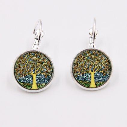 Náušnice so stromom života