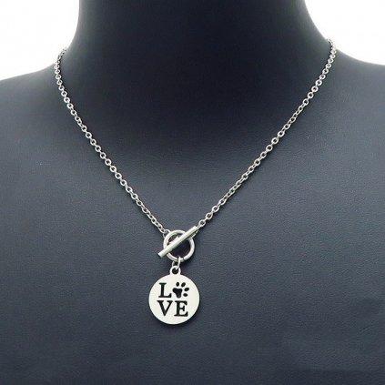 Dámsky náhrdelník Love Pet