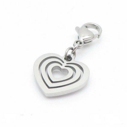 Kľúčenka prívesok na kľúče srdce