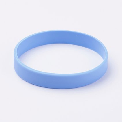 Silikónový náramok modrý univerzálny