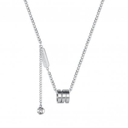 Štýlový dámsky náhrdelník z chirurgickej ocele