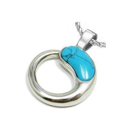 Prívesok Blue Mineral