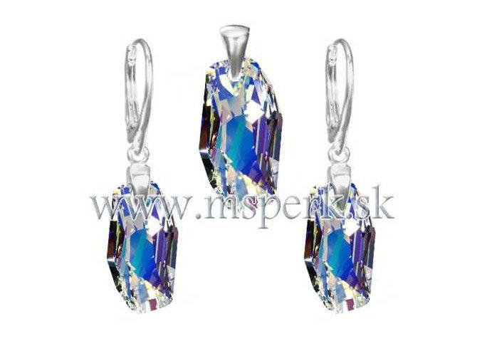 Exkluzívny set SWI crystal s modrým odleskom