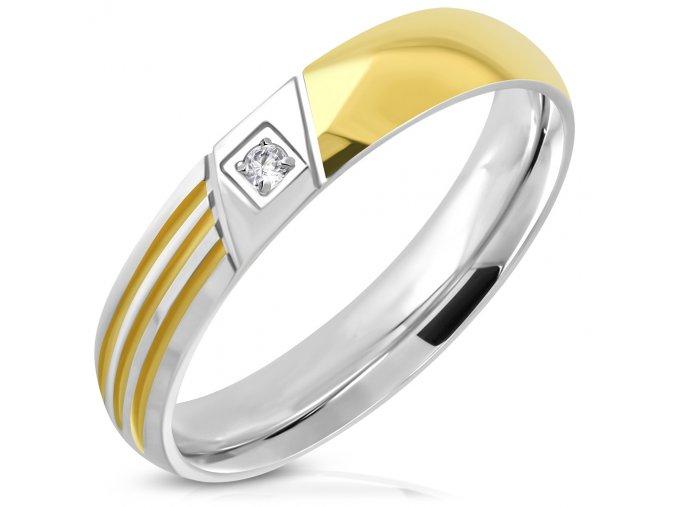 Dámsky prsteň so zirkónom