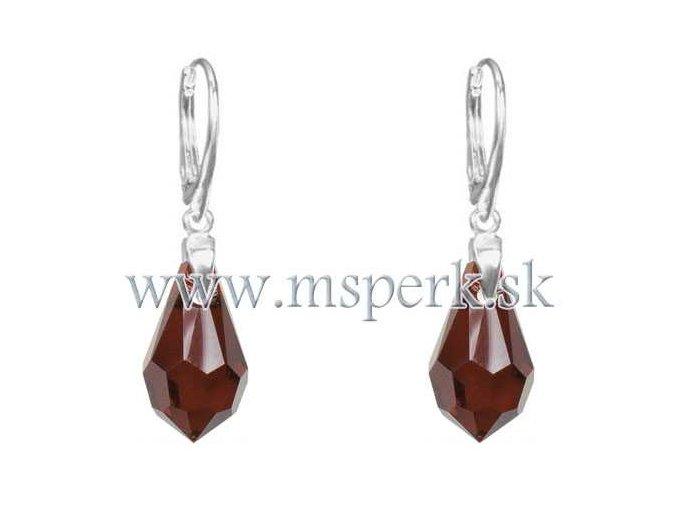 Exkluzívne náušnice SWI crystal 1904