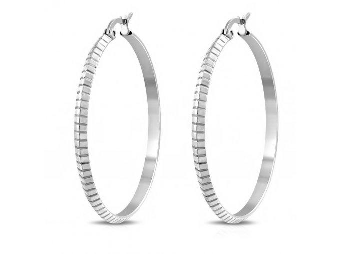 IEB171 Náušnice kruhy 40 mm