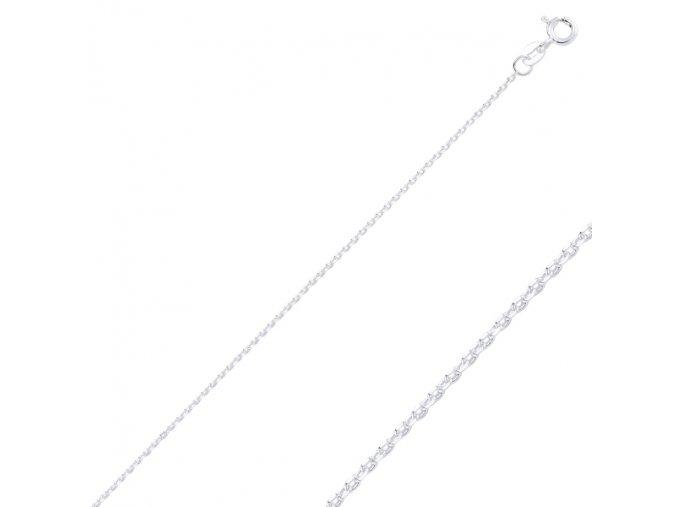 Strieborná retiazka Forzentina 45 cm