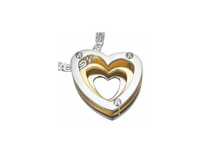 Prívesok 3 Hearts