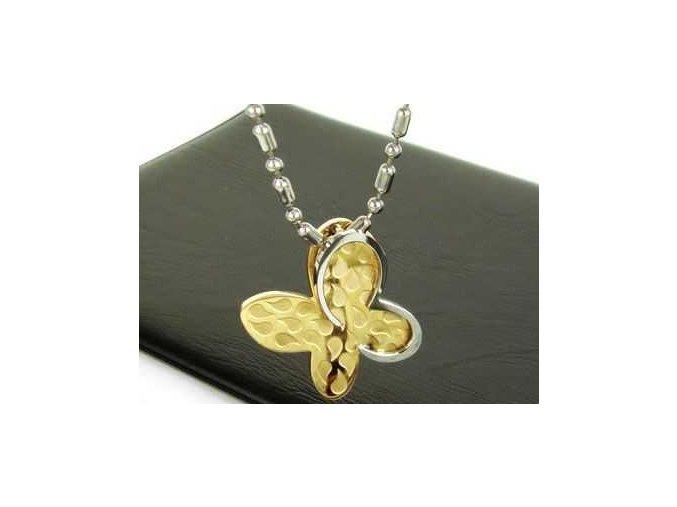 Prívesok Butterfly Gold