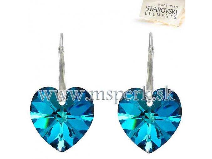 Náušnice SWI crystal 220