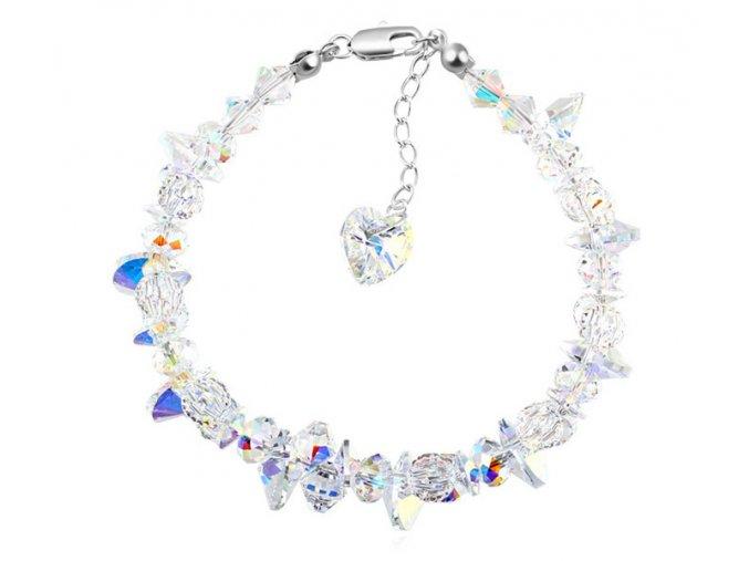 Exkluzívny náramok Made with Swarovski Crystals