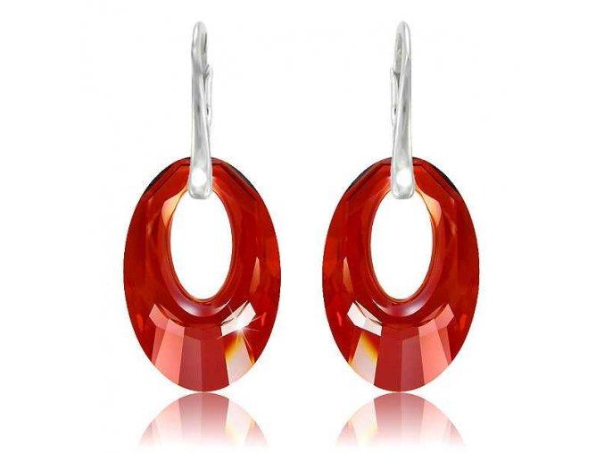 Náušnice SWI crystal 1401