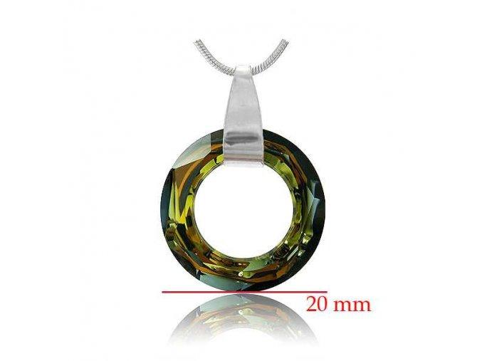 Prívesok SWI crystal 1474
