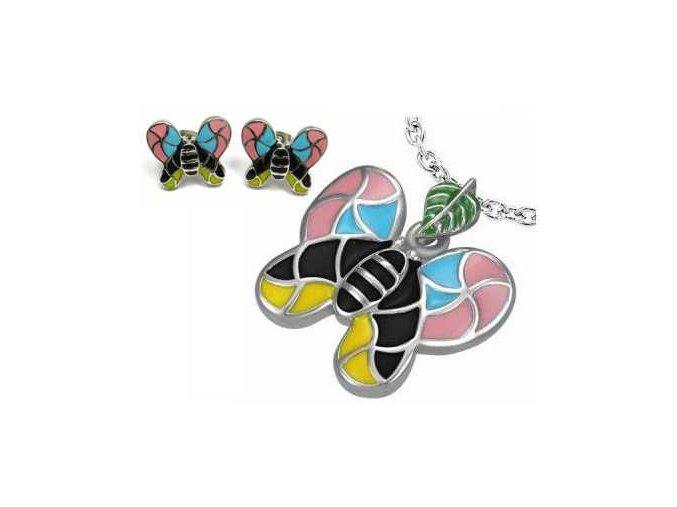 Dámsky set Coloured Butterfly