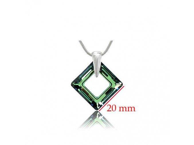 Prívesok SWI crystal 1525