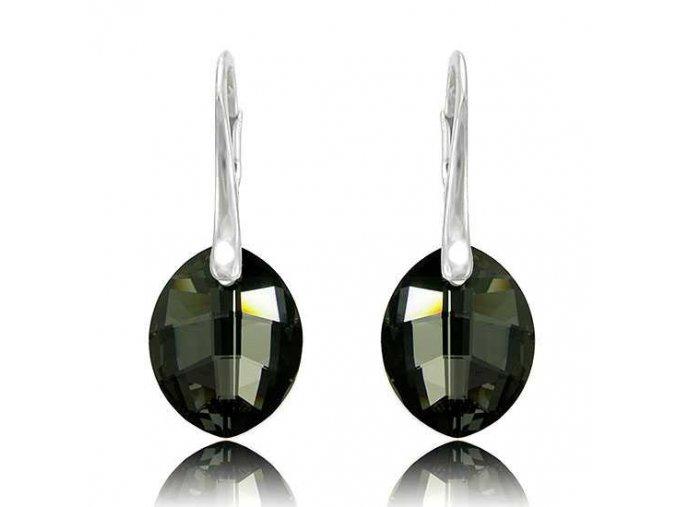 Náušnice SWI crystal 1583 14 mm