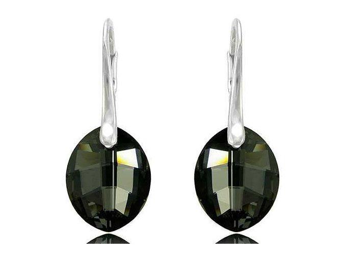 Náušnice SWI crystal 1584 23 mm