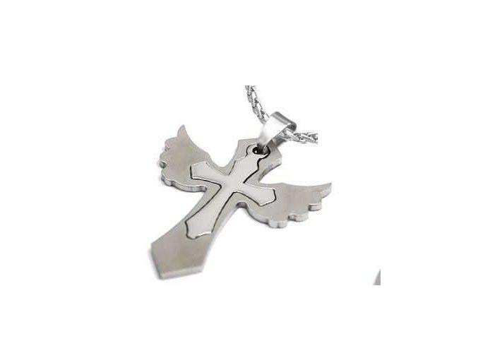 Prívesok Wing Cross 1630