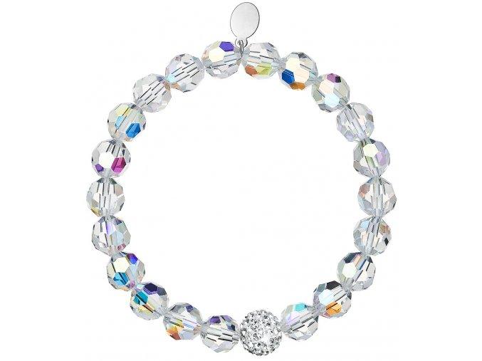 Dámsky náramok so Swarovski Crystals - Crystal Aurore Boreale
