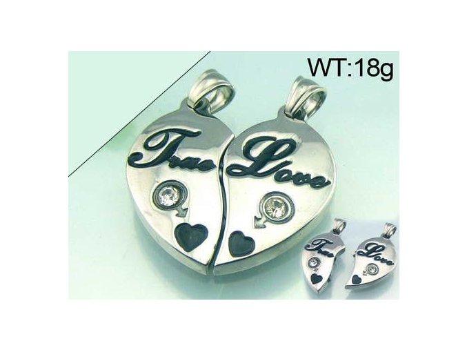 Prívesok True Love pre dvojice 2307
