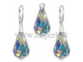 Exkluzívny set SWI crystal s farebným odleskom