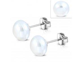 EWX260 Náušnice v tvare perly 6 mm