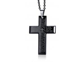 Prívesok kríž s modlitbou