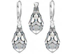 Exkluzívny set SWI crystal v tvare slzy Crystal
