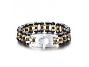 Stainless Steel Bike Link Bracelets