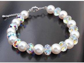 Exkluzívny perlový náramok 1988
