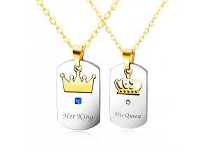 Prívesky His Queen & Her King