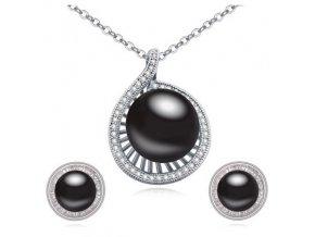 Náušnice a prívesok s perlou SW 2530