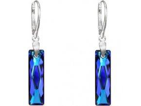 Náušnice SW crystal Baguette 2594