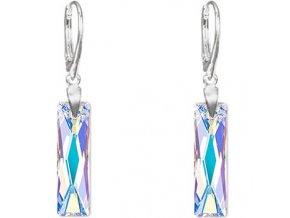 Náušnice SW crystal Baguette 2597