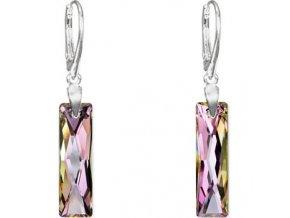 Náušnice SW crystal Baguette 2601