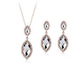 Set - náhrdelník a náušnice 2645