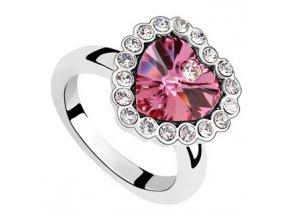 Exkluzívny prsteň SW Vykladané srdce