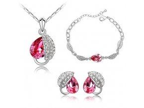 Set Slza - Trojdielna dámska súprava šperkov