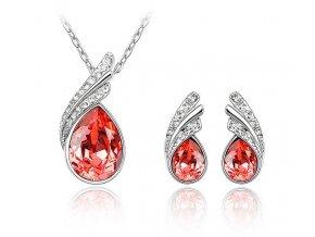 Set Slza - Dvojdielna dámska súprava šperkov