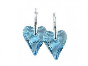 Náušnice SWI crystal 200