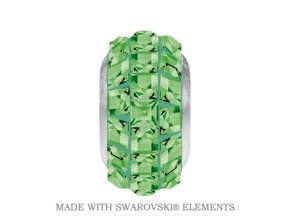 BeCharmed Pave Crystal Peridot