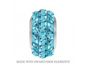 BeCharmed Pave Crystal Aquamarine
