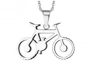 Prívesok Bicykel z chirurgickej ocele