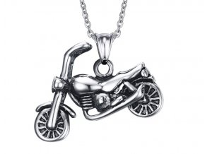 Prívesok motorka s retiazkou