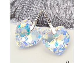 Exkluzívne náušnice SWI crystal 18 mm